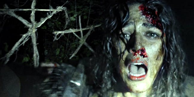 Callie Hernandez in 'Blair Witch.'