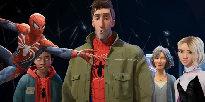 'Spider-Man: Into the Spider-Verse' Insomniac Games 'Spider-Man' Easter Egg