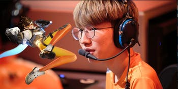 "One ""Overwatch' pro player is getting a lot of backlash over teabagging during a pro match."