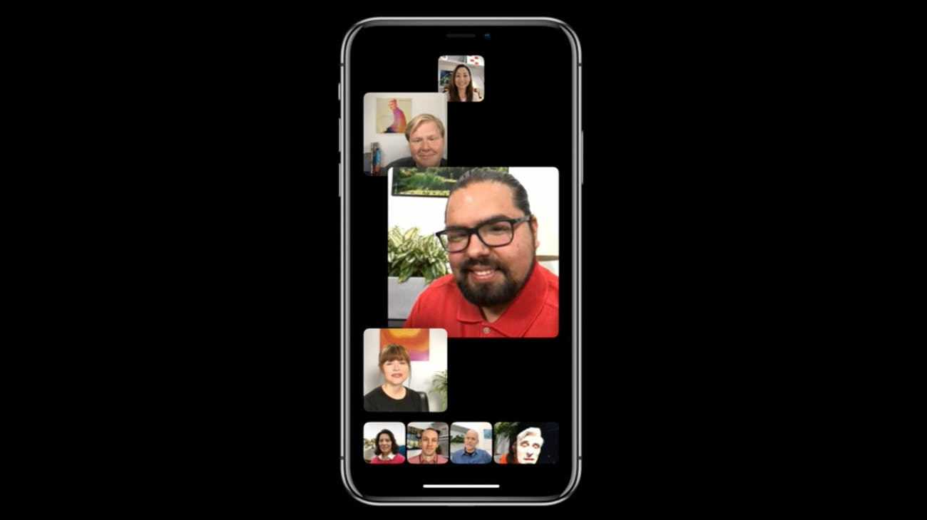 Group FaceTime.