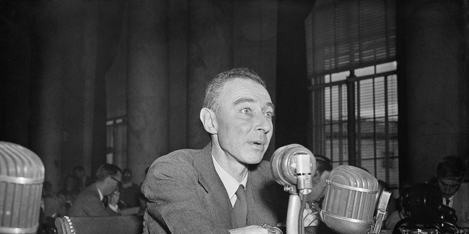 J. Robert Oppenheimer, often called the 'father of the atomic bomb' who chaired the ancestor of today's Department of Energy, had his security clearance revoked during the 'Red Scare' of the 1950s.