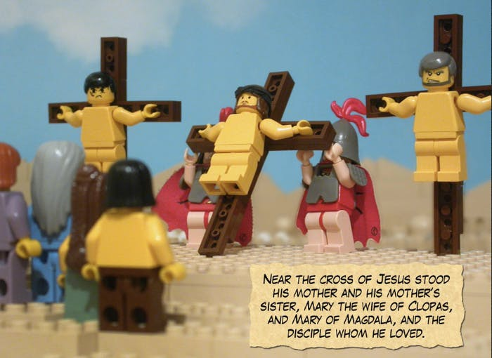 """The Brick Bible,"" a popular Lego version of the Holy Book"