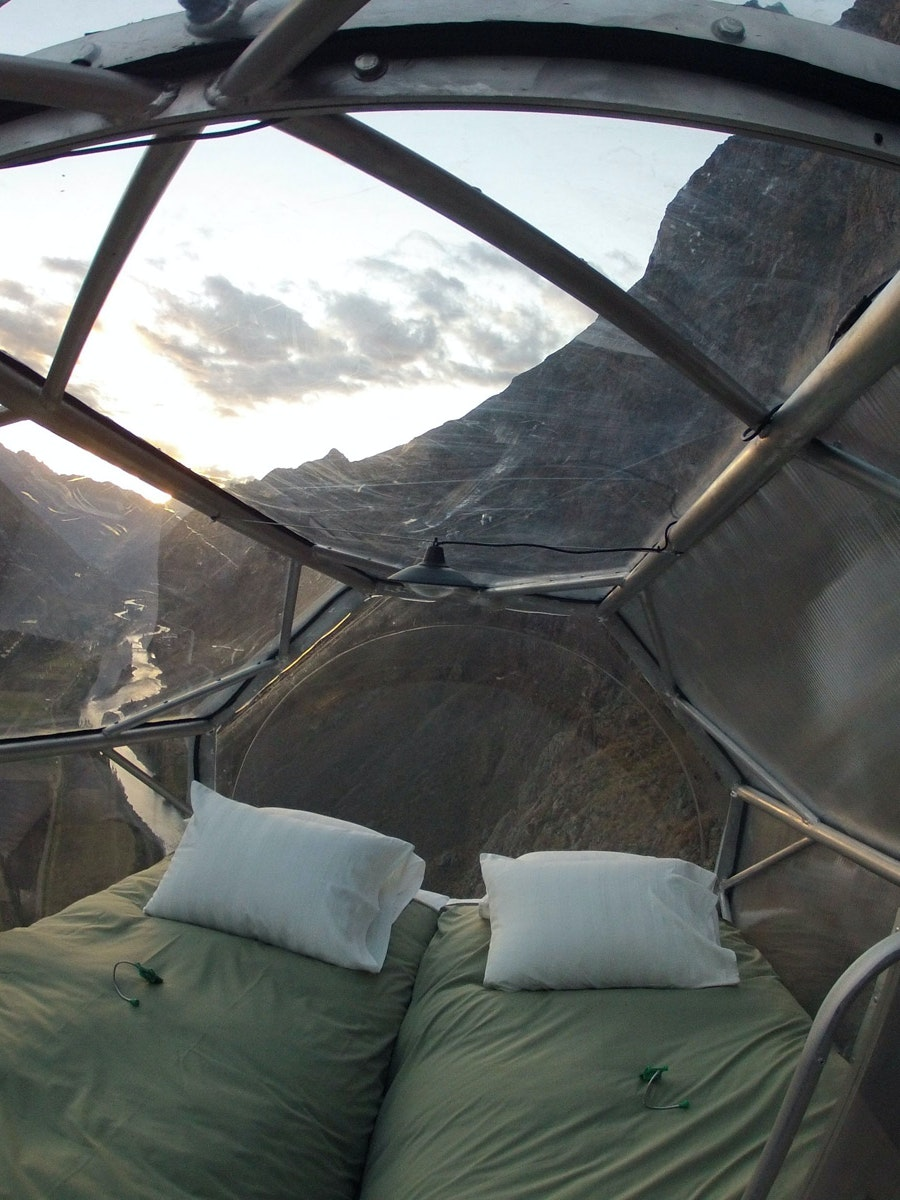 The 10 Weirdest Places to Sleep on Vacation