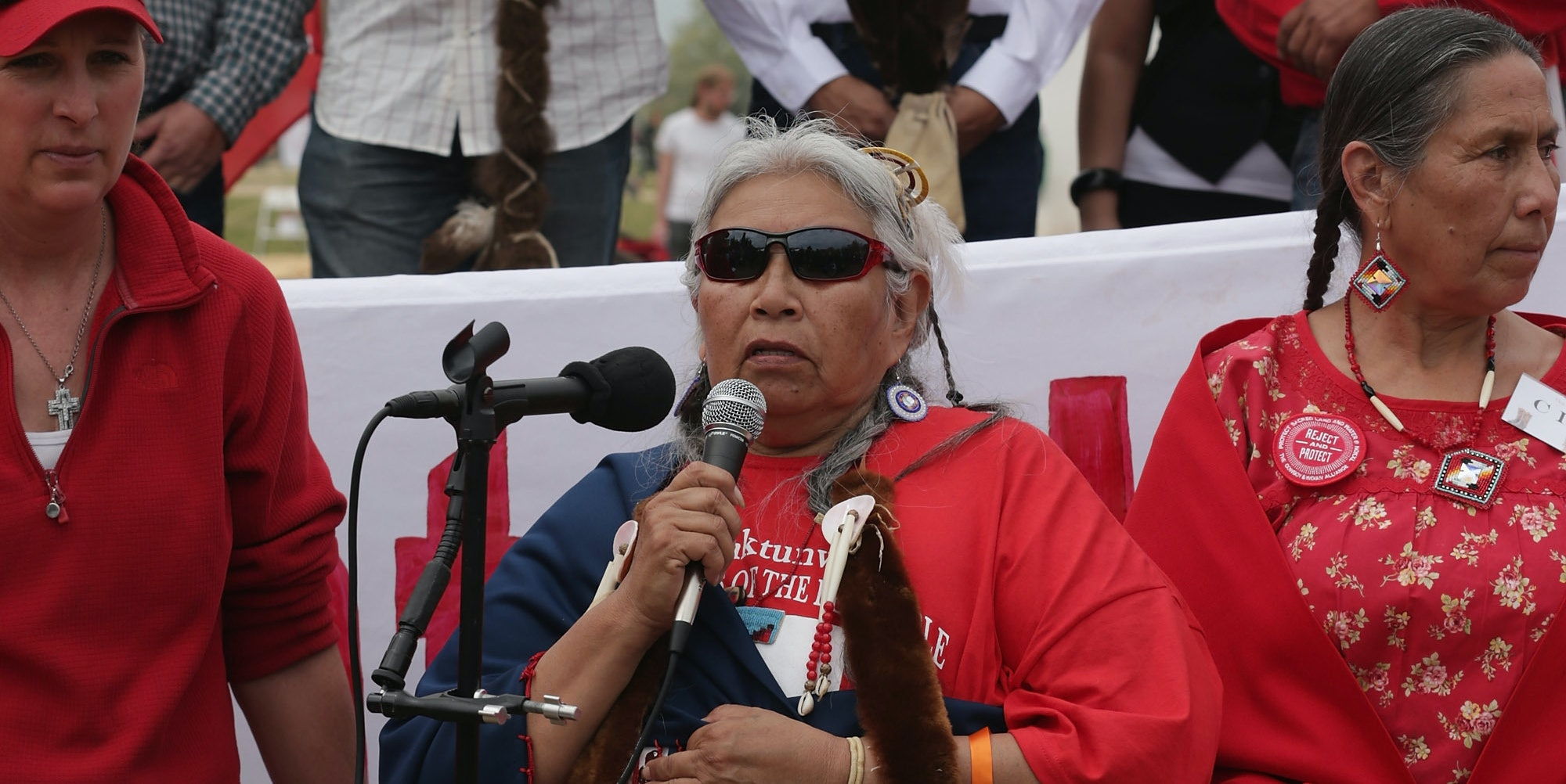 Faith Spotted Eagle received one vote in the Electoral College.