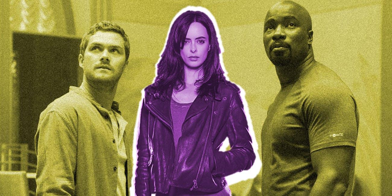 Jessica Jones Season 3 Luke Cage Iron Fist