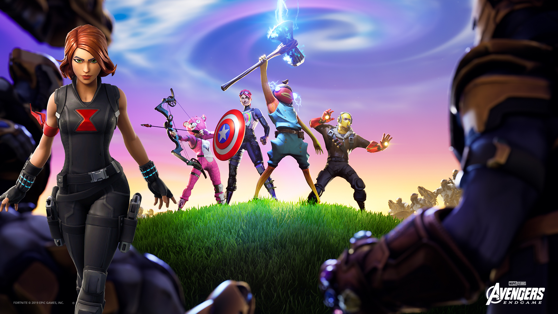 Fortnite' Black Widow Skin, Emote May Lead to Even More 'Endgame
