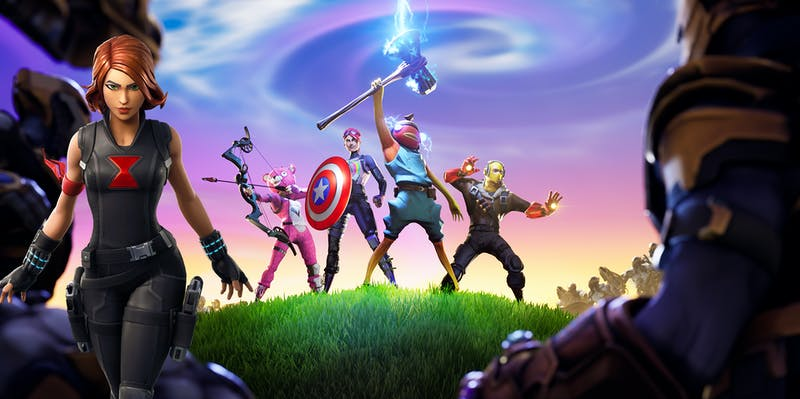 fortnite s new black widow endgame skin could lead to even more avengers - next skin for fortnite