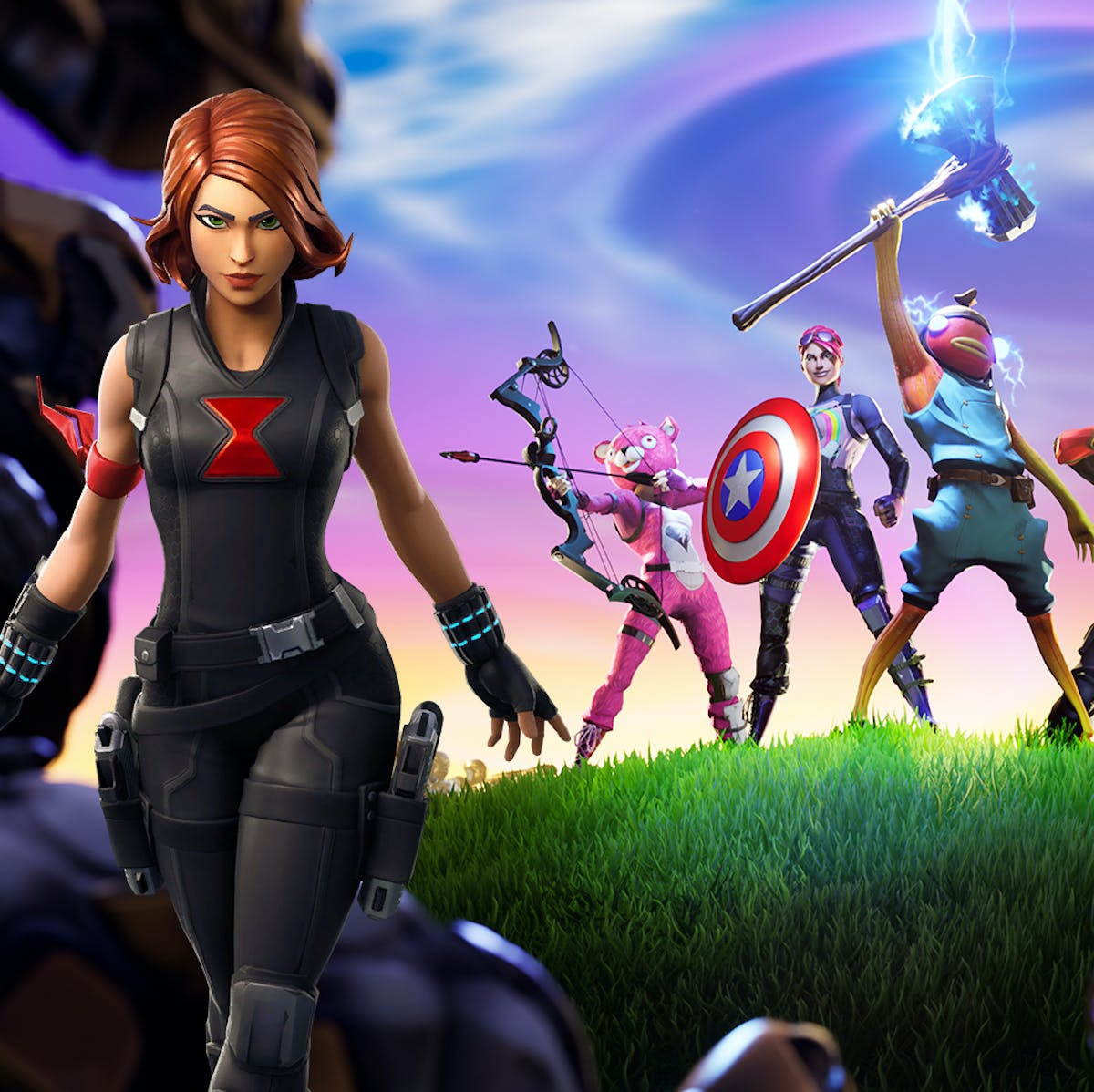 Fortnite' Black Widow Skin, Emote May Lead to Even More