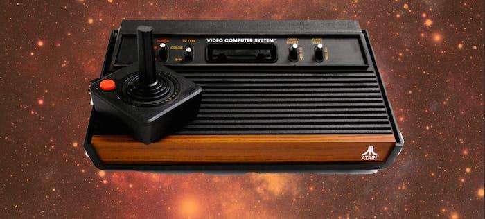 An Atari 2600.