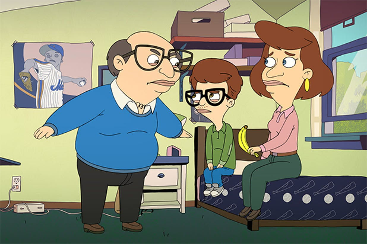 Andrew's dad in 'Big Mouth'