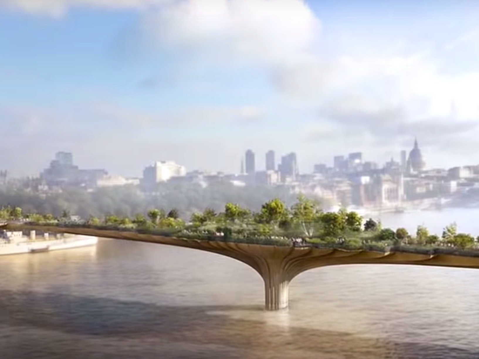 London's Controversial Garden Bridge Gets Support From a New Political Power
