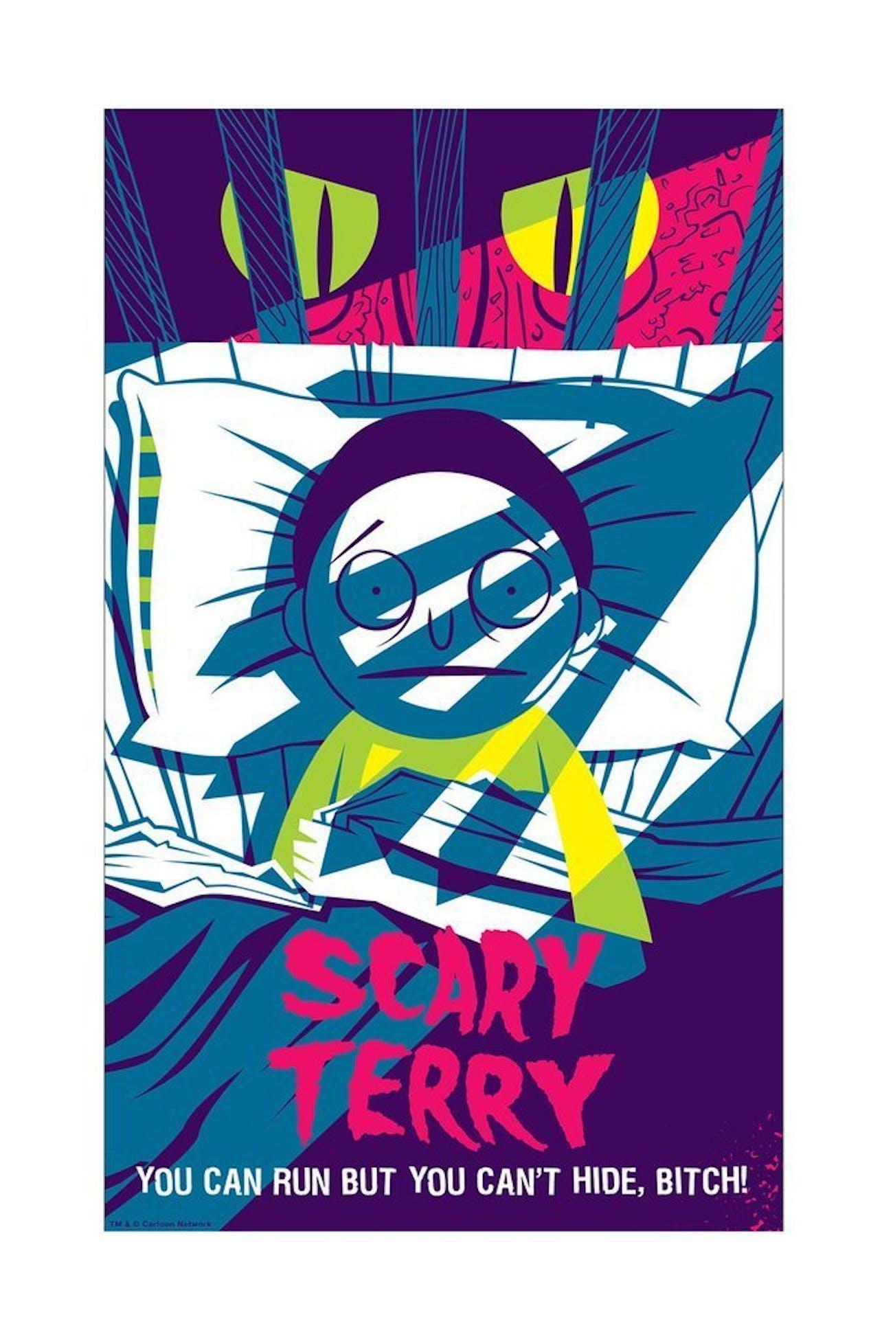 Placering Best Art From Adult Swim Rick og Morty-3590