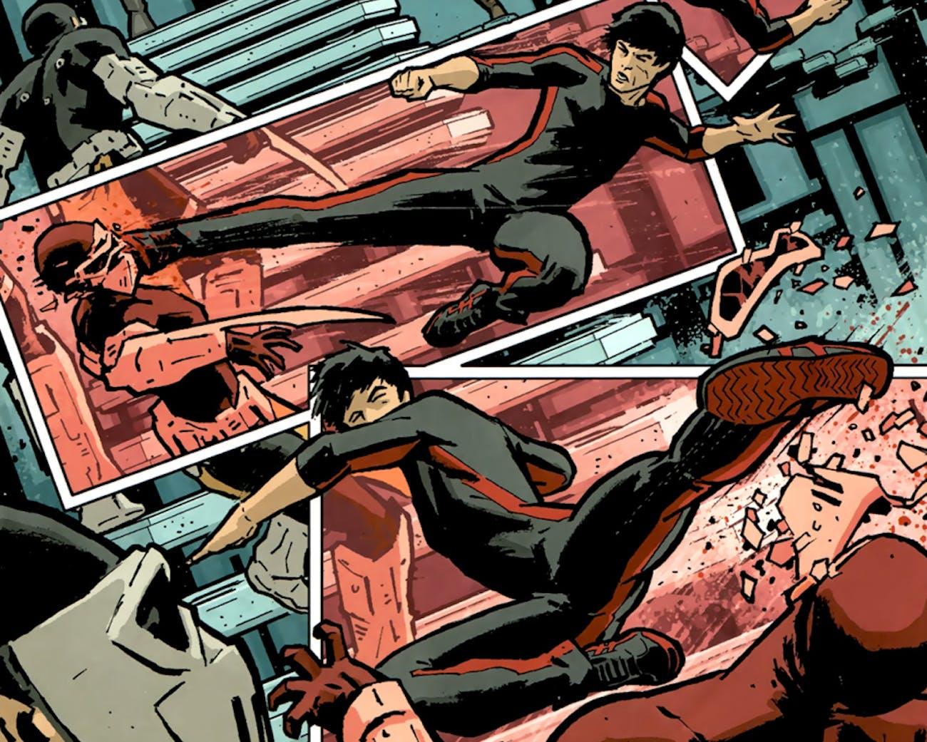 Shang Chi Secret Avengers Marvel