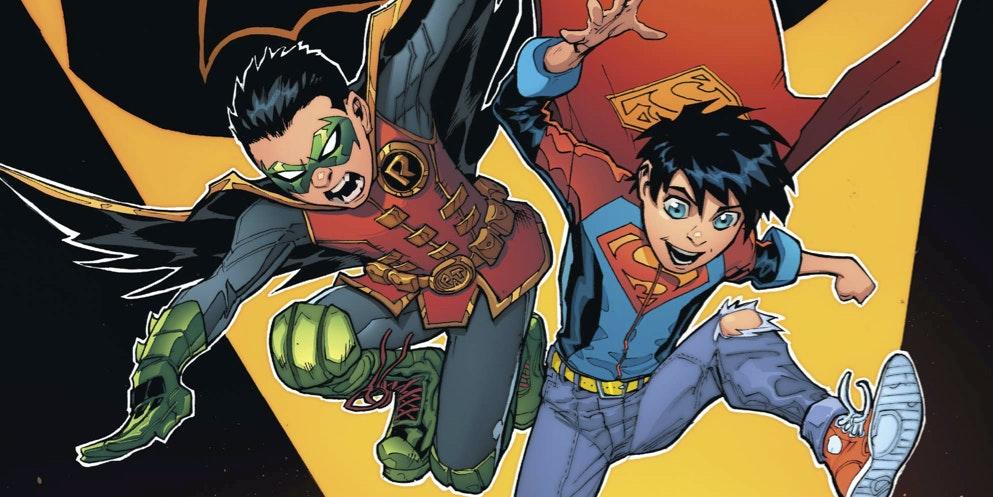 Batman Superman Robin Superboy