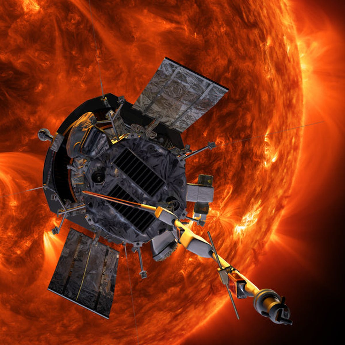 """Past the """"Alfvén Point,"""" the Parker Solar Probe Officially Touches the Sun"""