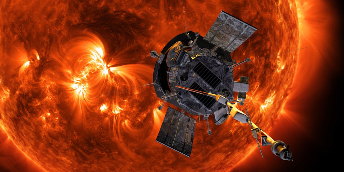 probe sun gettin so hot parker solar
