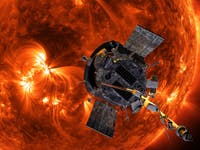 probe sun gettin so hot parker solar
