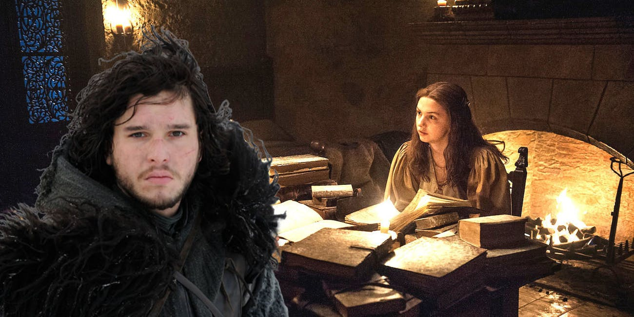 Sam and Gilly in 'Game of Thrones' Season 7 episode 5, 'Eastwatch'