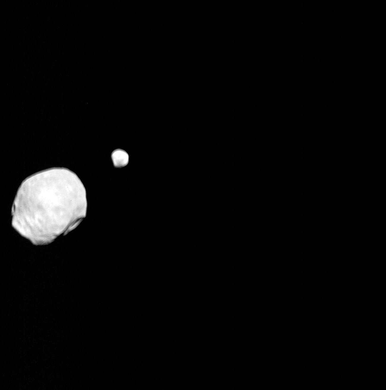 Phobos and Deimos