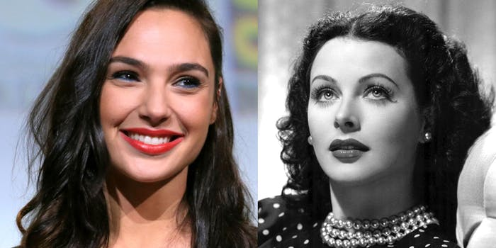 hedy lamarr gal gadot inventions