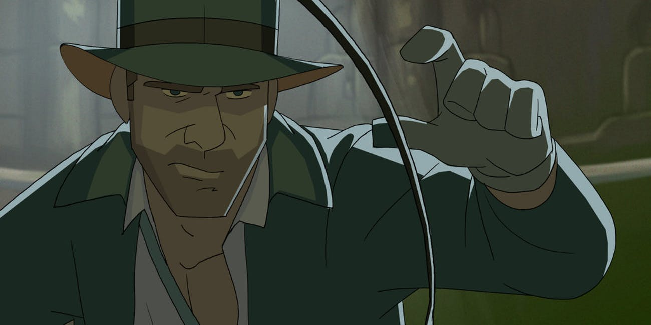 Artist Patrick Schoenmaker's 'The Adventures of Indiana Jones' animated cartoon