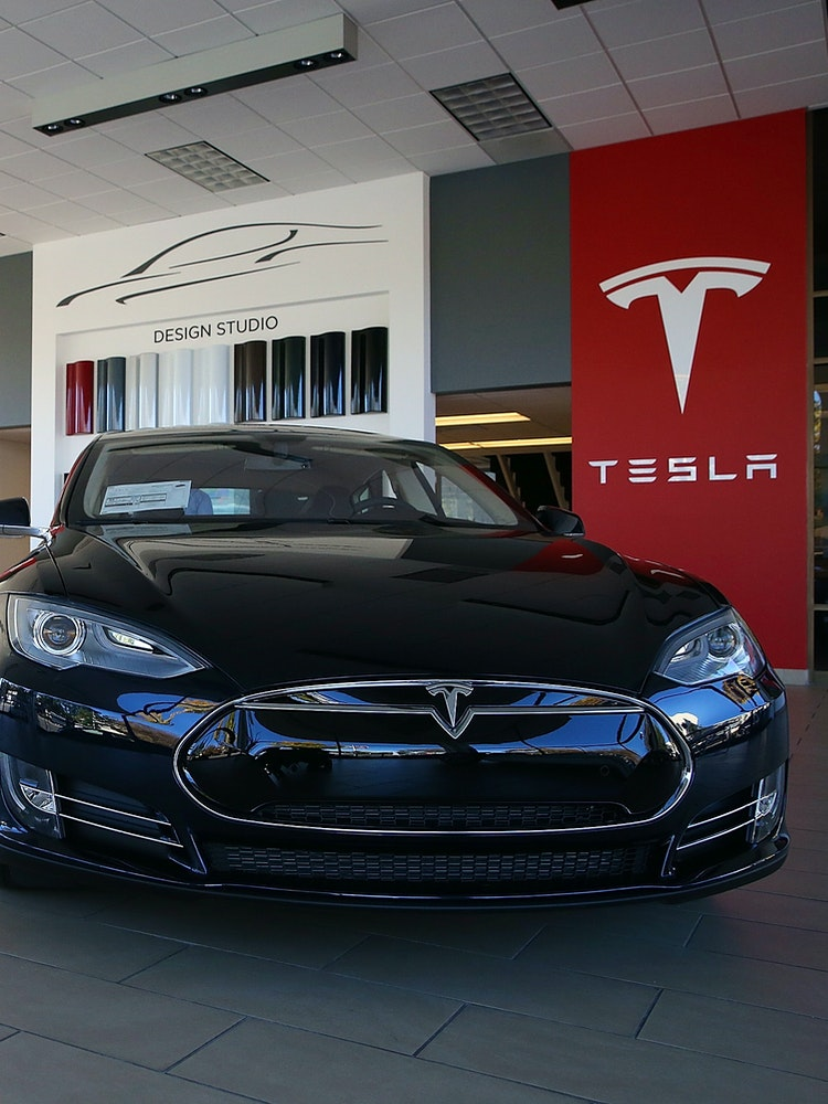 new tesla model s 75d with middle sized battery accidentally announced inverse. Black Bedroom Furniture Sets. Home Design Ideas
