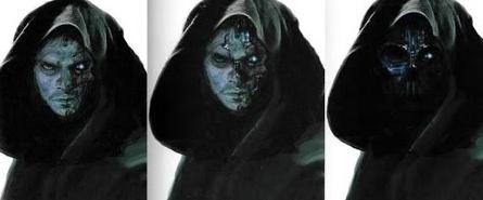 Anakin Concept Art Episode 3