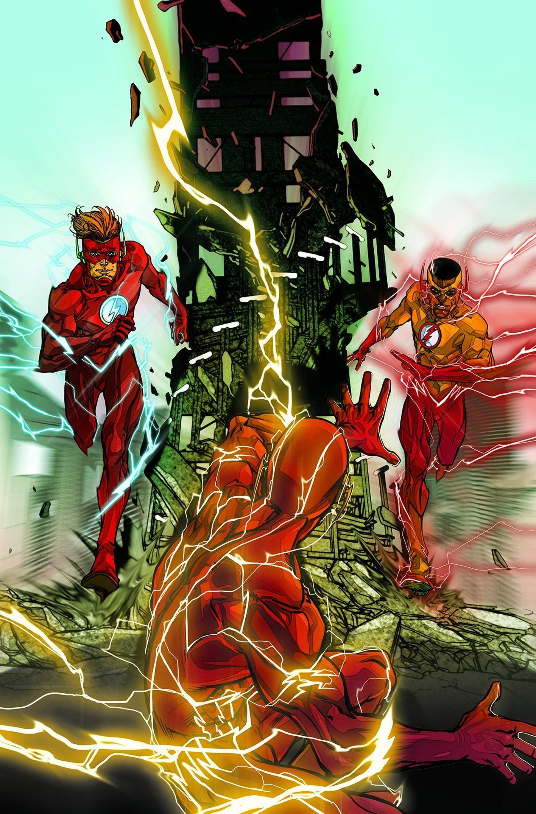 The Flash Kid Flash of Two Worlds