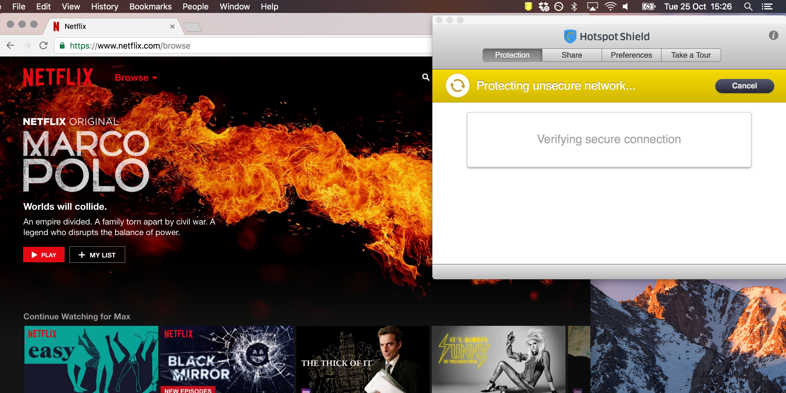 UK Netflix with VPN
