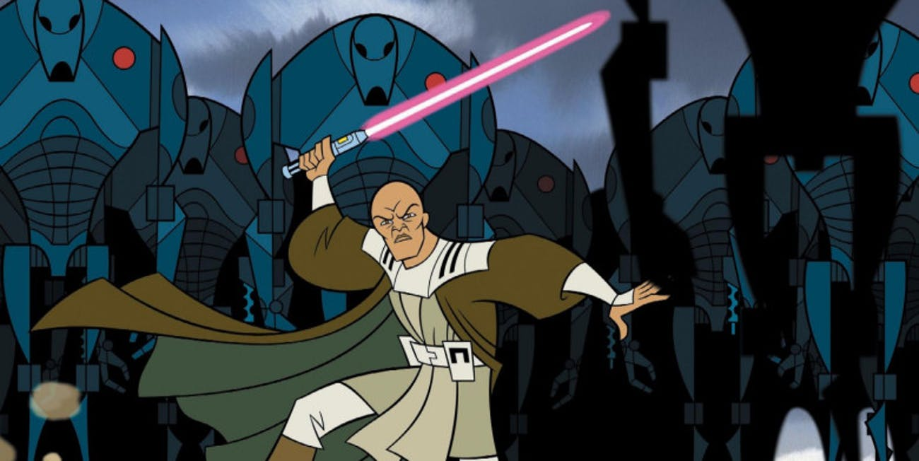 Genndy Tartakovsky Clone Wars on Disney Plus: