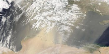 Image from NASA's Terra satellite