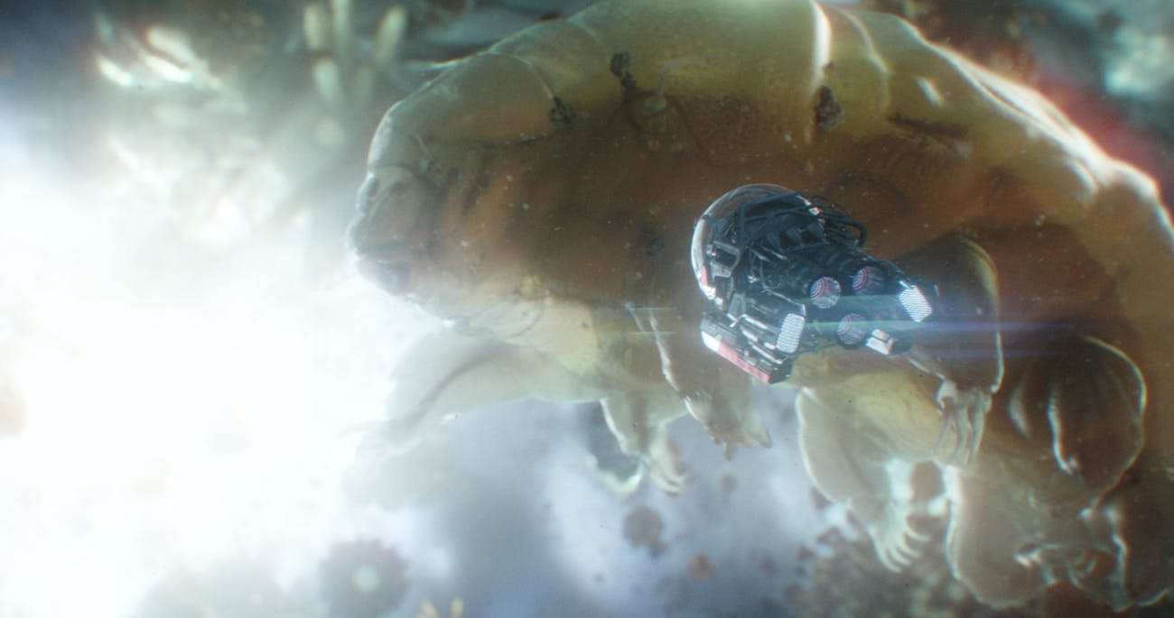 Those tardigrades aren't the only weird things down in the Quantum Realm.