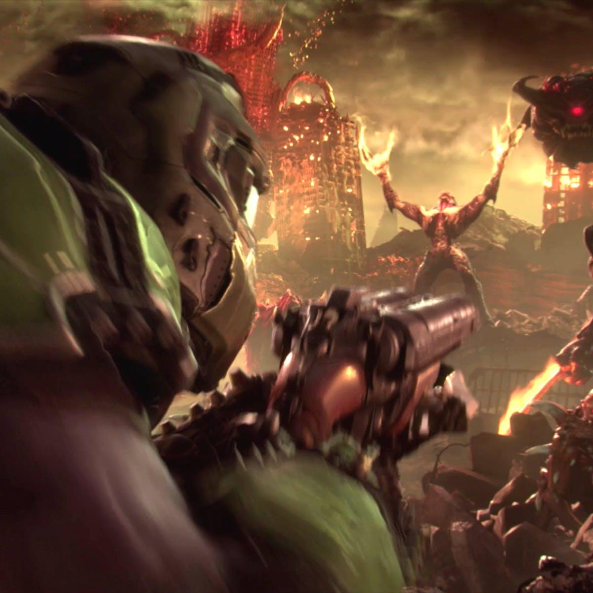 'DOOM Eternal' is unapologetic, high-octane video game junk food
