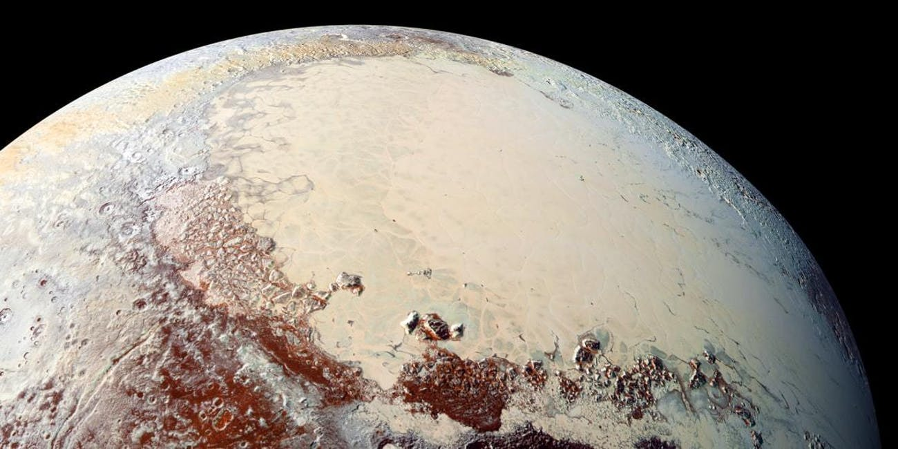 Pluto's icy heart could be hiding a subsurface ocean.
