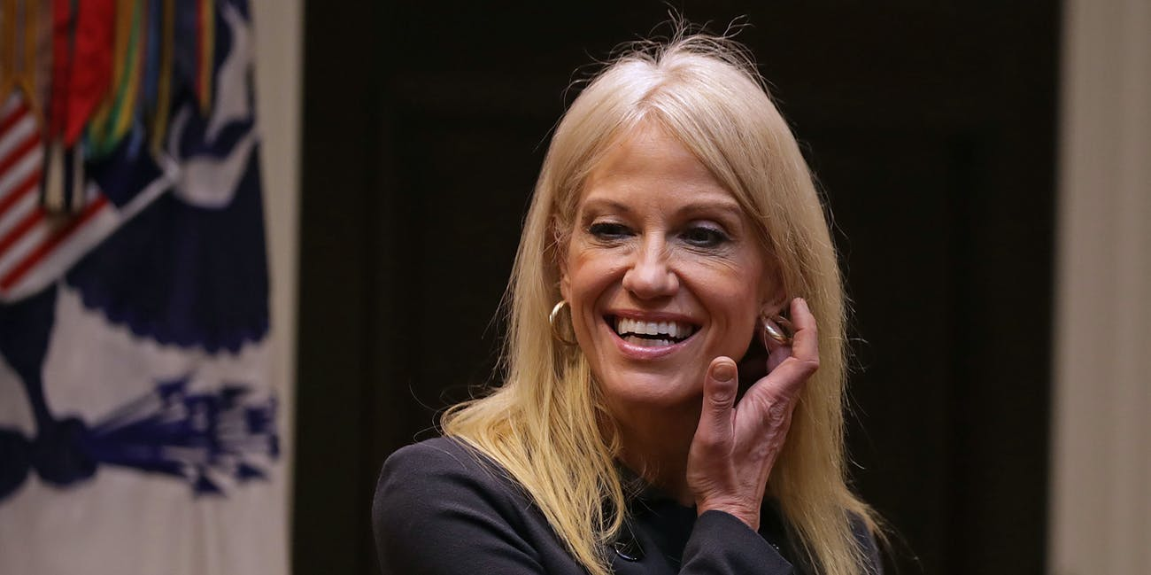 Kellyanne Conway fabricated a story about a terrorist attack in Bowling Green, KY.