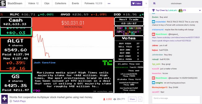 stockstream stock market stream twitch