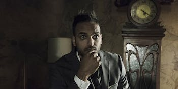 Arjun Gupta plays Penny on 'The Magicians'.