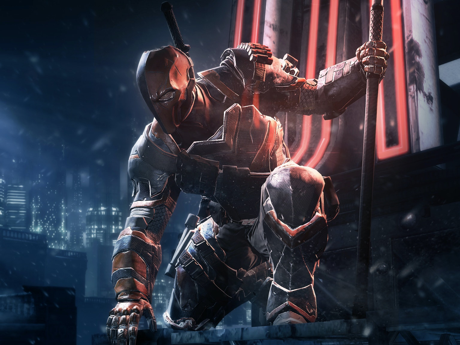 Deathstroke is Going to Kick Ben Affleck's Batman Ass