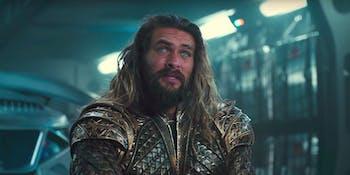 Jason Momoa as Aquaman -- 'Justice League'