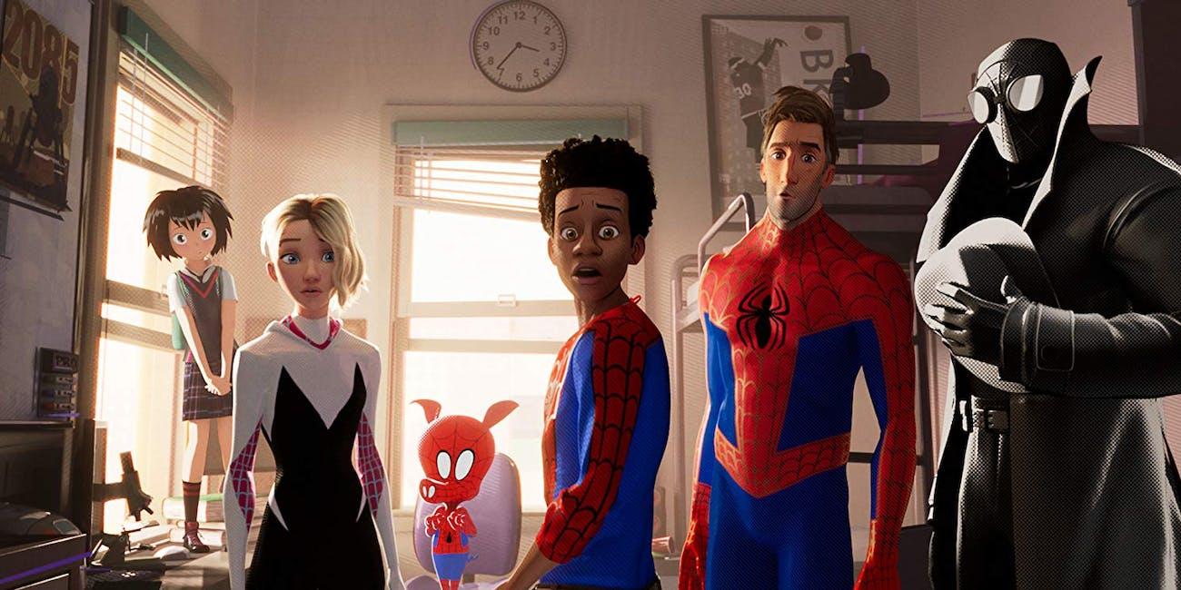 spider-man, spider-gwen, peter porker