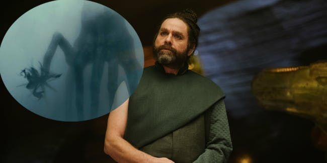 Zach Galifianakis as the Happy Medium in 'A Wrinkle in TIme'