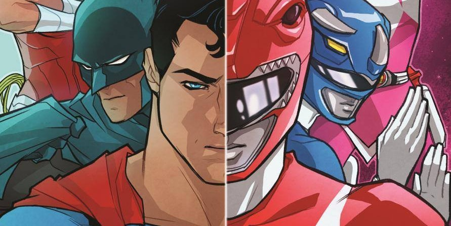 DC's Justice League Will Meet the Power Rangers in 2017