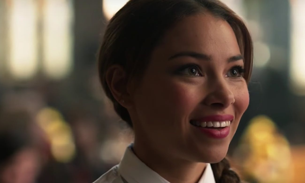 Could that be Iris and Barry's daughter from the future?