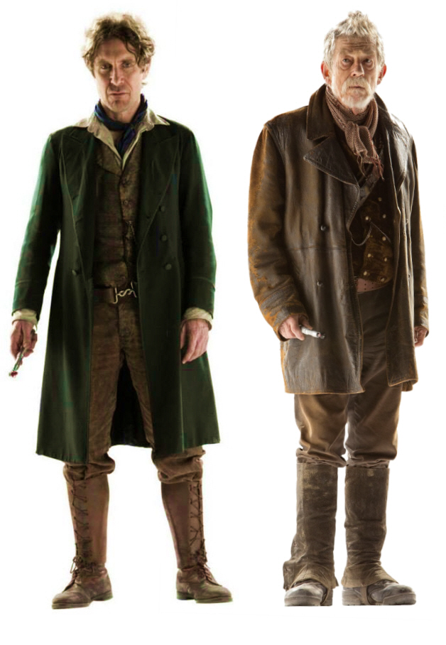 The Doctor from the Northu0027s outfit was wellu2026pretty much exactly how youu0027d expect a Doctor from the North to dress. V-neck T-shirt boots leather jacket.  sc 1 st  Inverse & Ranking the u0027Doctor Whou0027 Wardrobes: Who Wore It Best? | Inverse