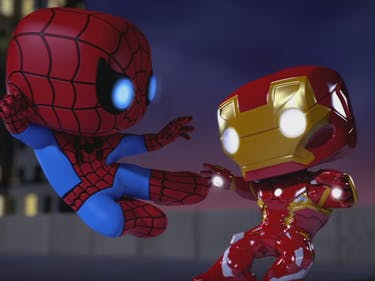 Watch Spider-Man, Iron Man, and Loki Mind-Stone One Another