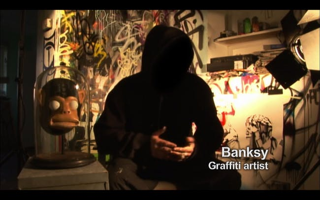 No, 'Exit Through the Gift Shop' won't tell you who Banksy really is.
