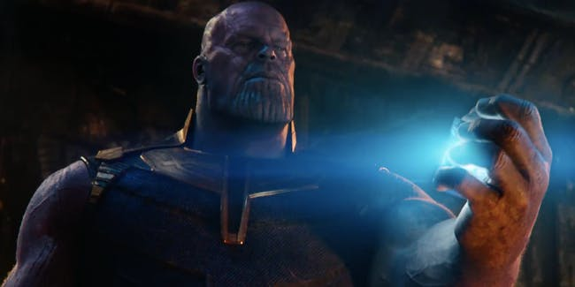 Looks like Thanos might kill someone important very early in 'Infinity War'.