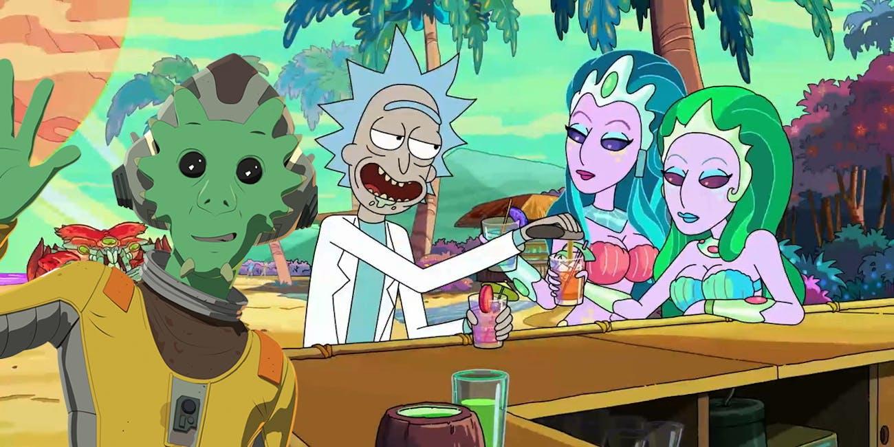 Rick and Morty Neeku Vozo