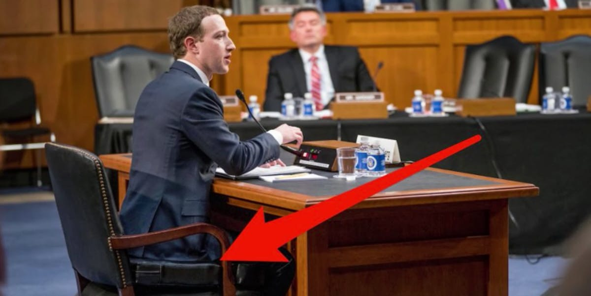 Silicon Valley Auto Show >> Mark Zuckerberg Booster Seat: How Psychology Backs Sitting ...
