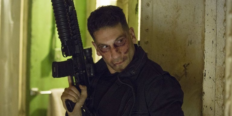 Jon Bernthal as Punisher in Daredevil S2